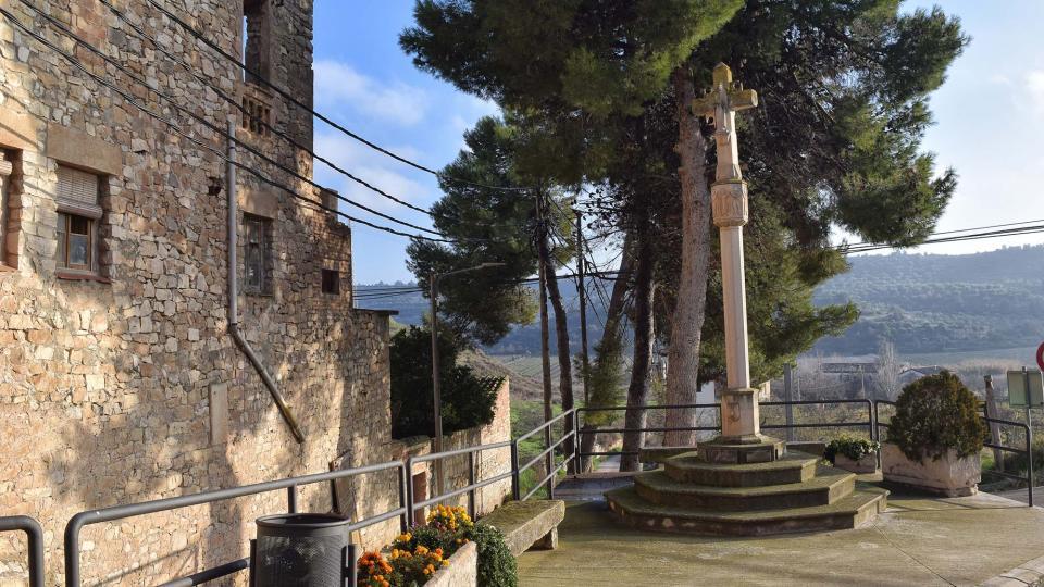 Croix de chemin Sant Martí de Riucorb