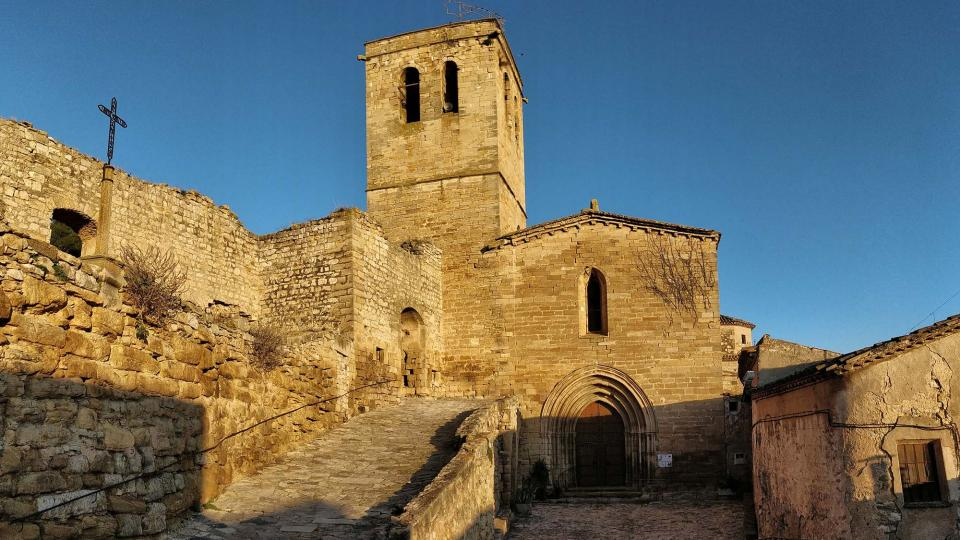 03.01.2019 Església de Santa Maria  Guimerà -  Ramon Sunyer