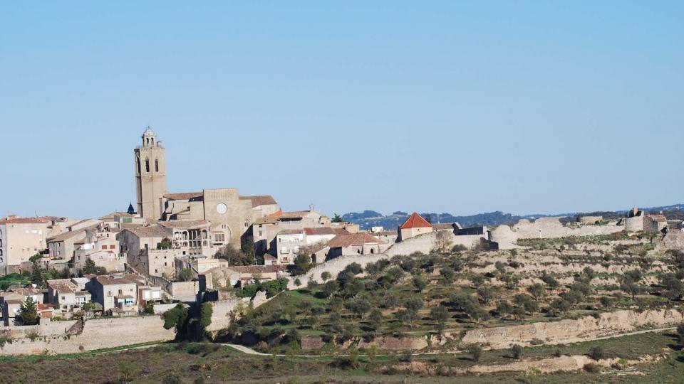 02.04.2016 Castell de Cervera  Cervera -  Ramon Sunyer