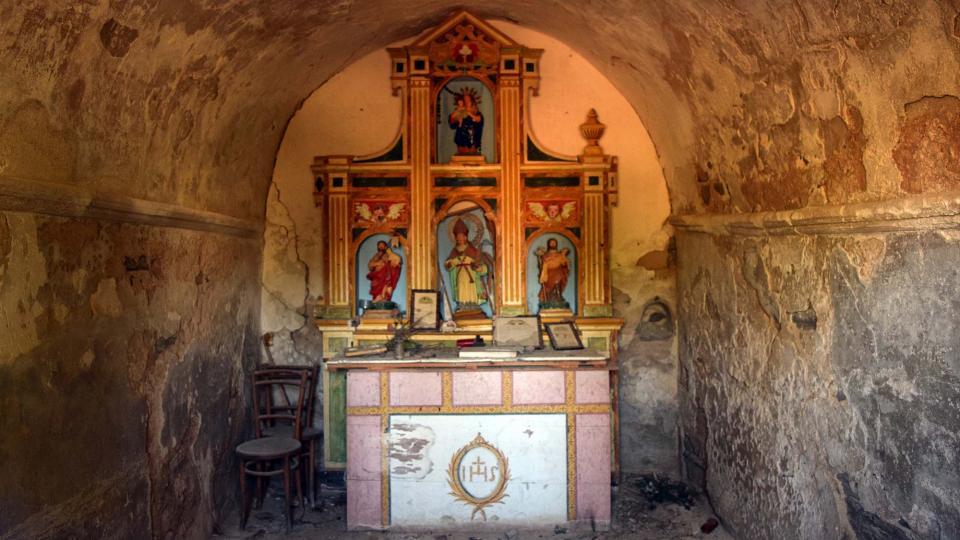 Capella de Sant Ermengol - Autor Ramon Sunyer (2016)