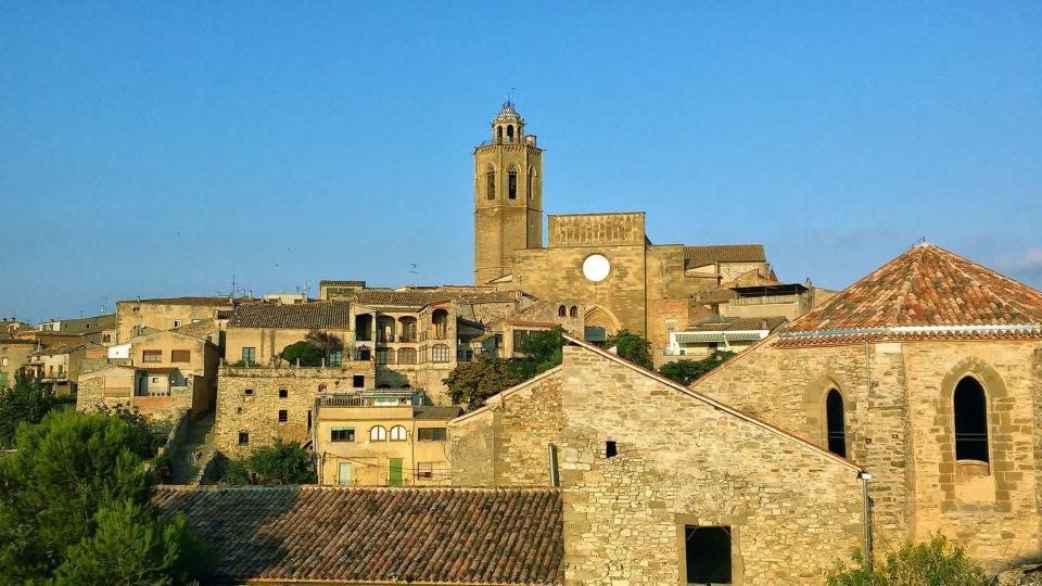 19.08.2014 església de Santa Maria  Cervera -  Ramon Sunyer