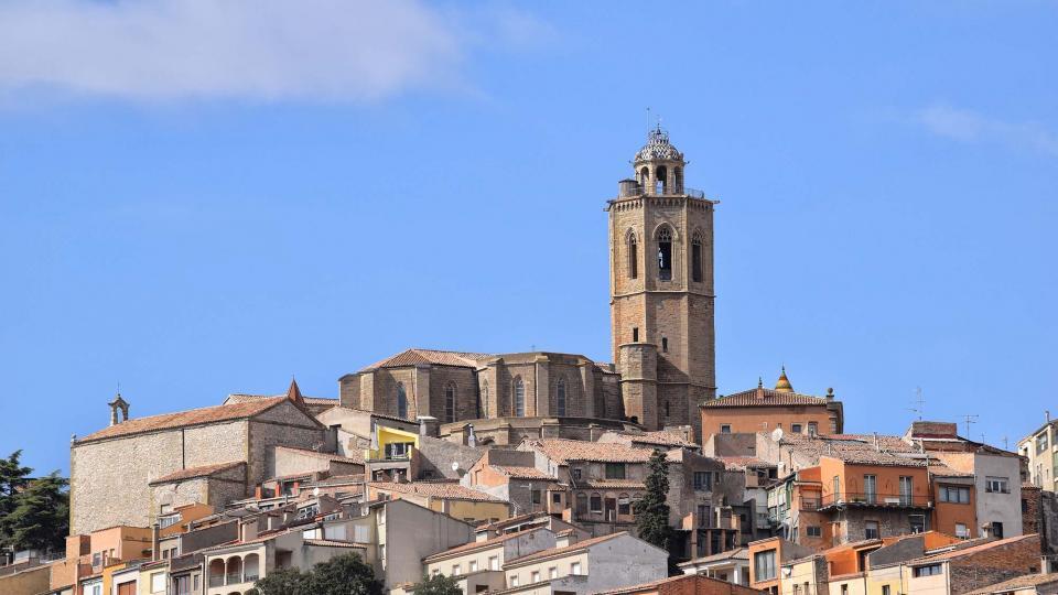 09.10.2016 església de Santa Maria  Cervera -  Ramon Sunyer