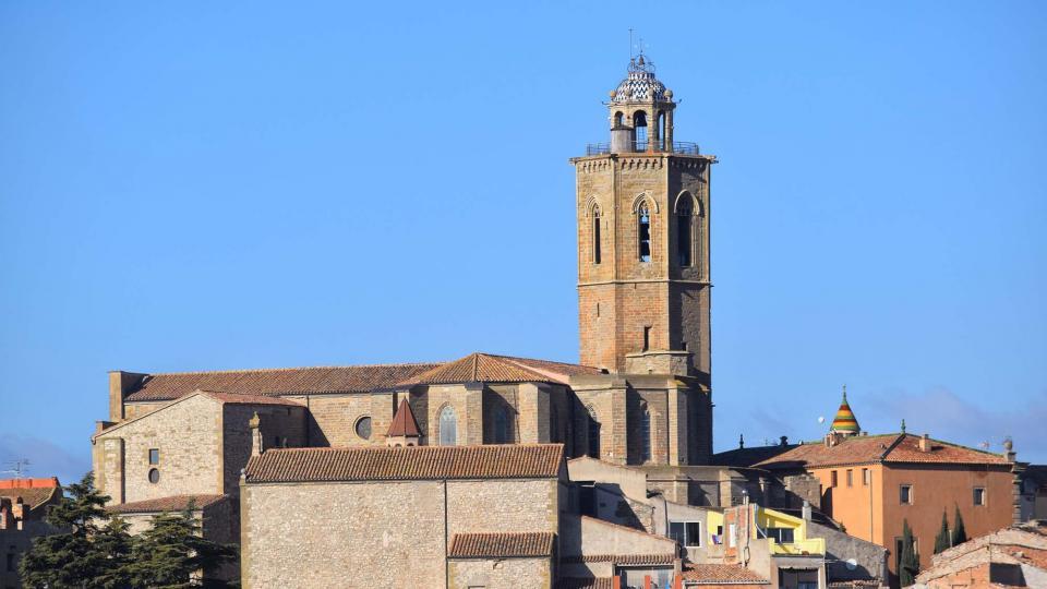18.12.2016 església de Santa Maria  Cervera -  Ramon Sunyer