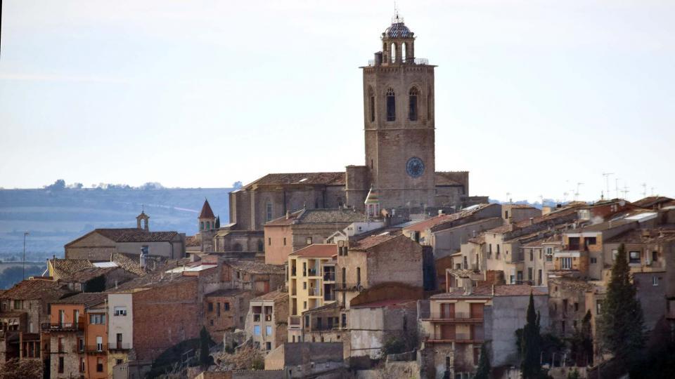 12.01.2019 església de Santa Maria  Cervera -  Ramon Sunyer