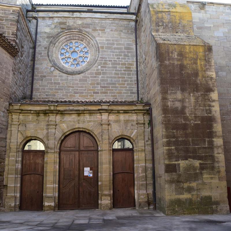 18.02.2018 església de Santa Maria  Cervera -  Ramon Sunyer