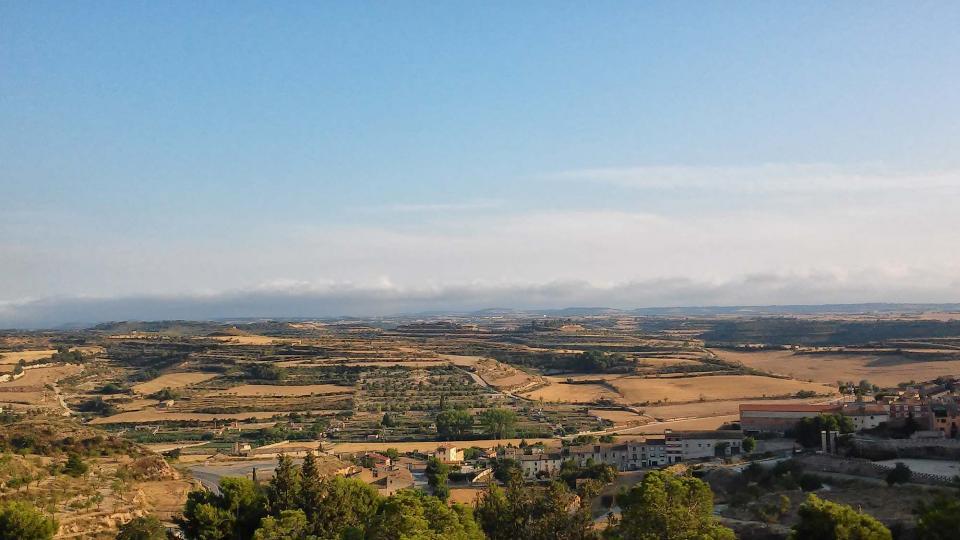 19.08.2014 vista des del mirador  Cervera -  Ramon Sunyer