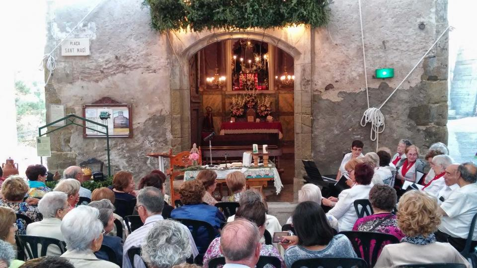 19.08.2014 Festa de sant Magí  Cervera -  Ramon Sunyer