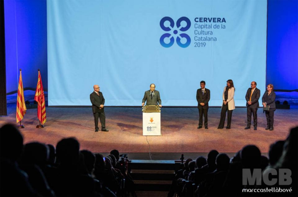 Parlament de Quim Torra, president de la Generalitat de Catalunya - Cervera