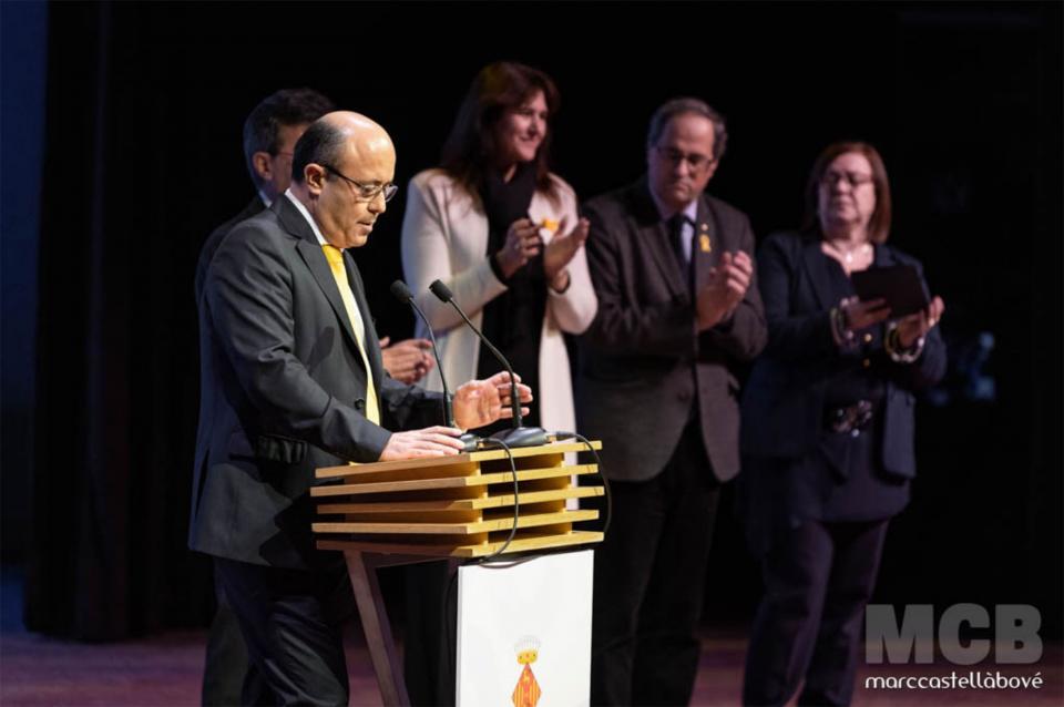 19.01.2019 Parlament de Ramon Royes, paer en cap  Cervera -  Marc Castellà Bové