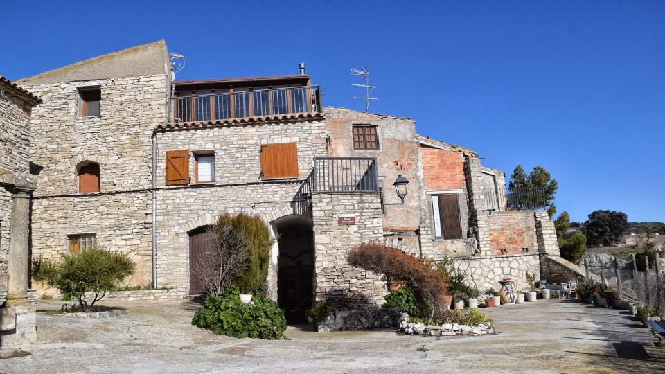 27.01.2019 castell  Briançó -  Ramon Sunyer