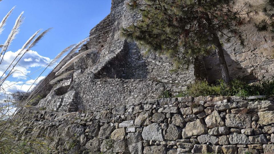 27.01.2019 contraforts del castell  Briançó -  Ramon Sunyer