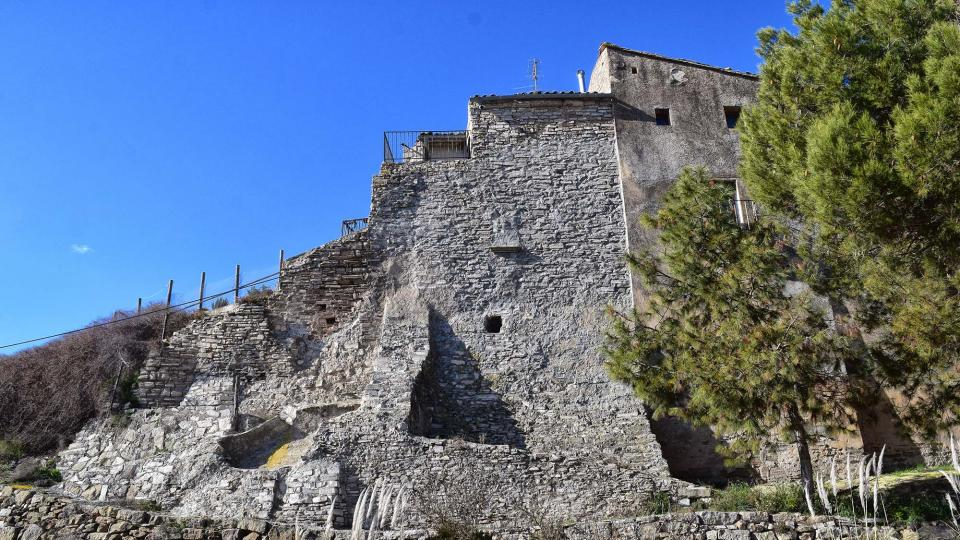 Castle of Briançó - Author Ramon Sunyer (2019)
