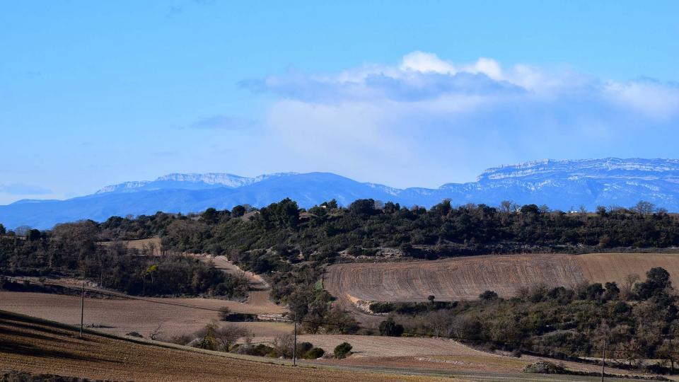 27.01.2019 Vistes de la serra del Montsec  Portell -  Ramon Sunyer