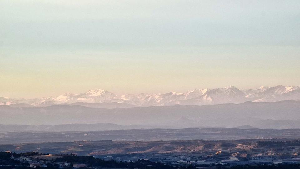 26.01.2019 Vistes del Pirineu nevat  Civit -  Ramon Sunyer