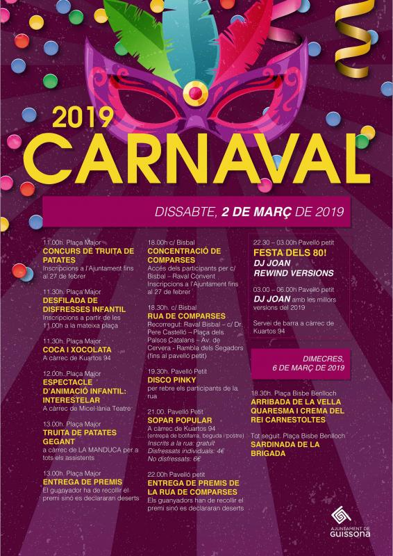 Carnaval Guissona 2019