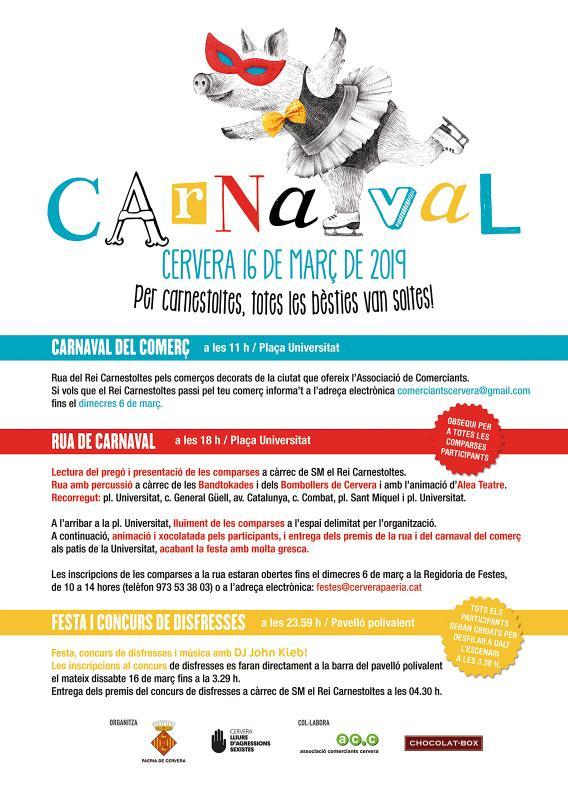Carnaval Cervera 2019