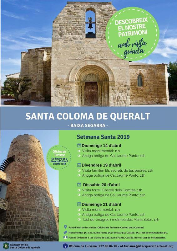 Visites guiades Setmana Santa 2019