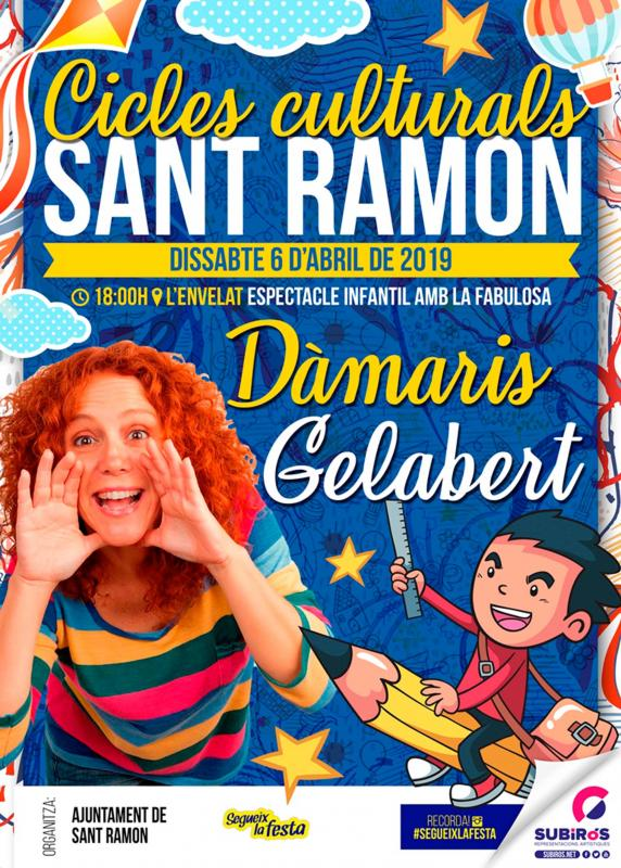 Damaris Gelabert en concert