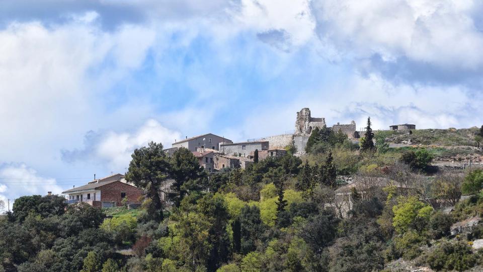 07.04.2019 vista del poble  Alta-riba -  Ramon Sunyer