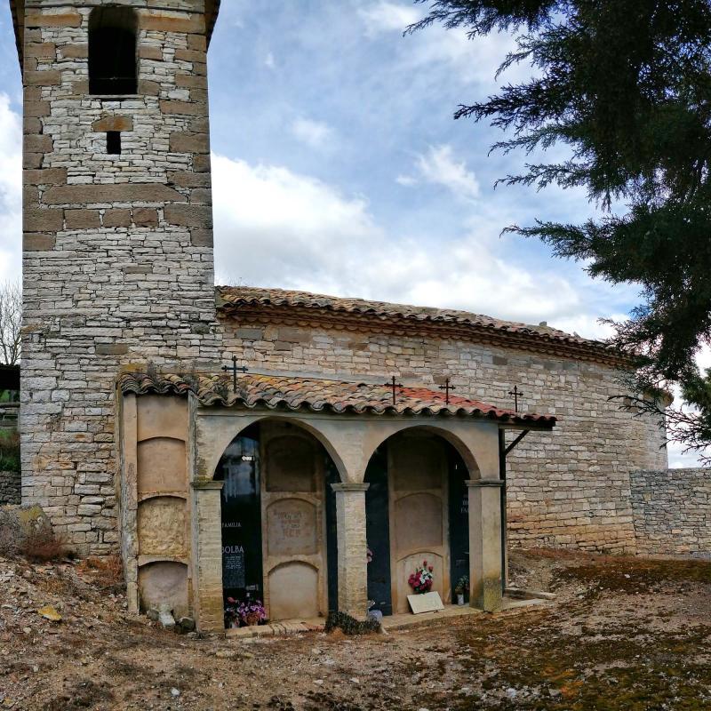 07.04.2019 Església de Sant Jordi  Alta-riba -  Ramon Sunyer
