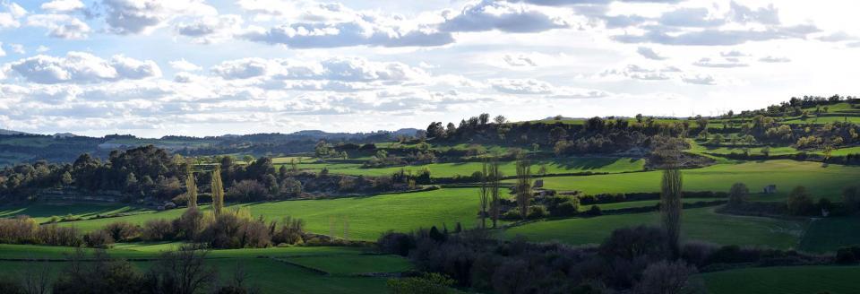 27.04.2019 Panoràmica del Gaià  Santa Coloma de Queralt -  Ramon Sunyer