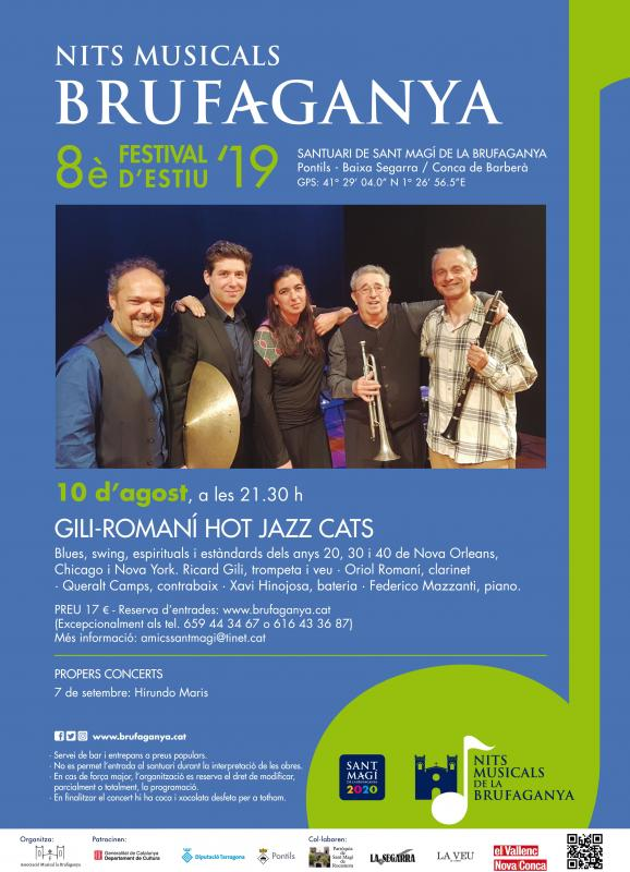 GILI-ROMANÍ HOT JAZZ CATS (Nits Musicals de la Brufaganya)