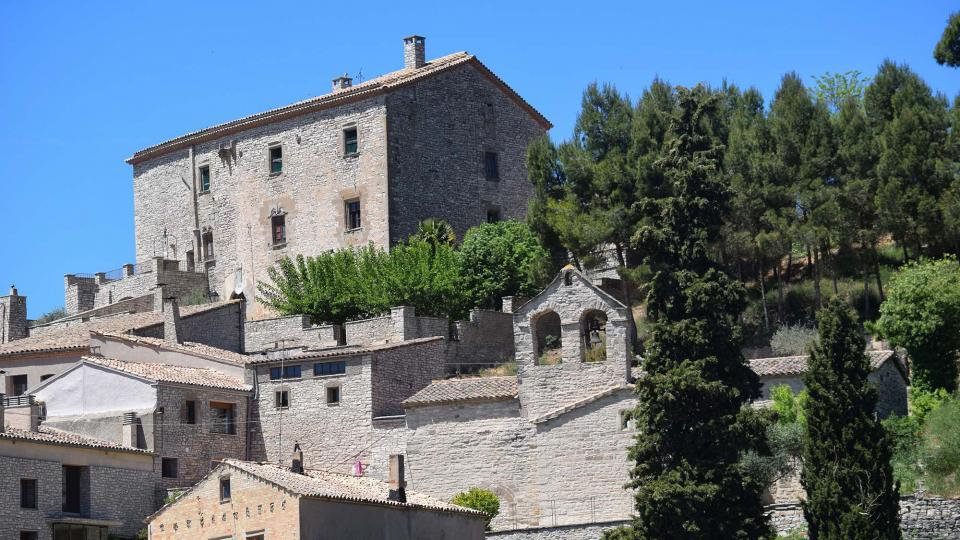 12.05.2019 Castell i església  Estaràs -  Ramon Sunyer