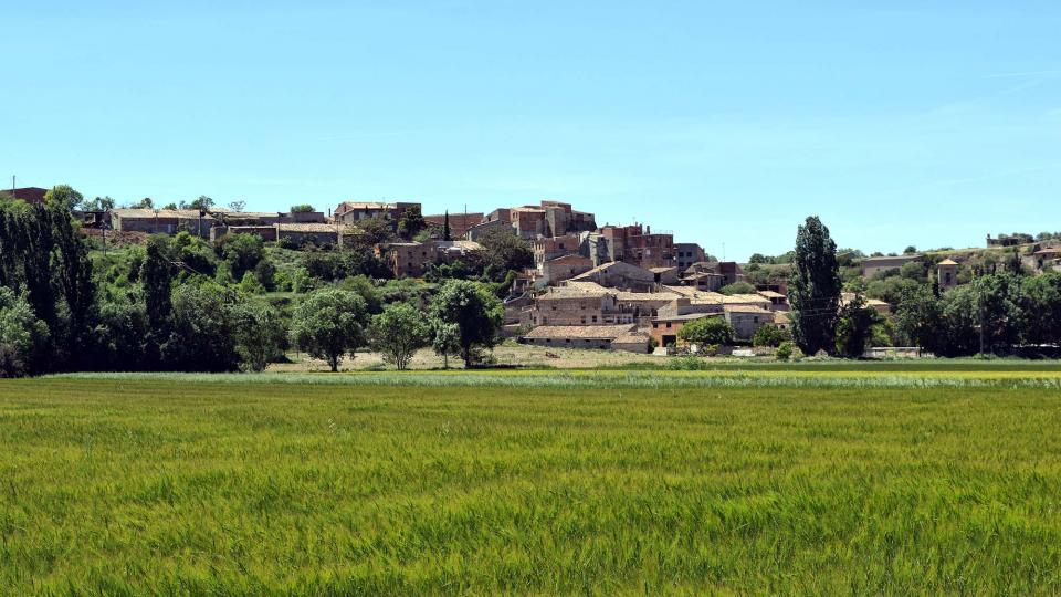 Hiking trail of Les Oluges - Malgrat - La Prenyanosa - Castellnou d'Oluges - Les Oluge - Author Ramon Sunyer (2019)