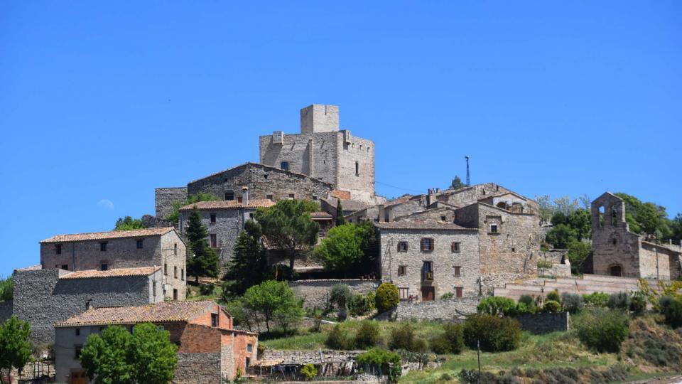 Ruta de senderismo de Les Oluges - Malgrat - La Prenyanosa - Castellnou d'Oluges - Les Oluge - Autor Ramon Sunyer (2019)