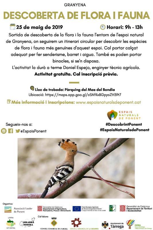 Descoberta de la flora i la fauna a Granyena