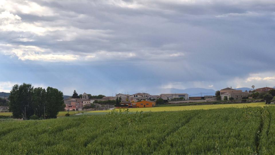 18.05.2019 vista del poble  Pallerols -  Ramon Sunyer