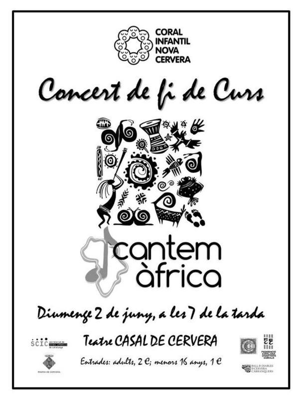 Concert 'Cantem Àfrica'