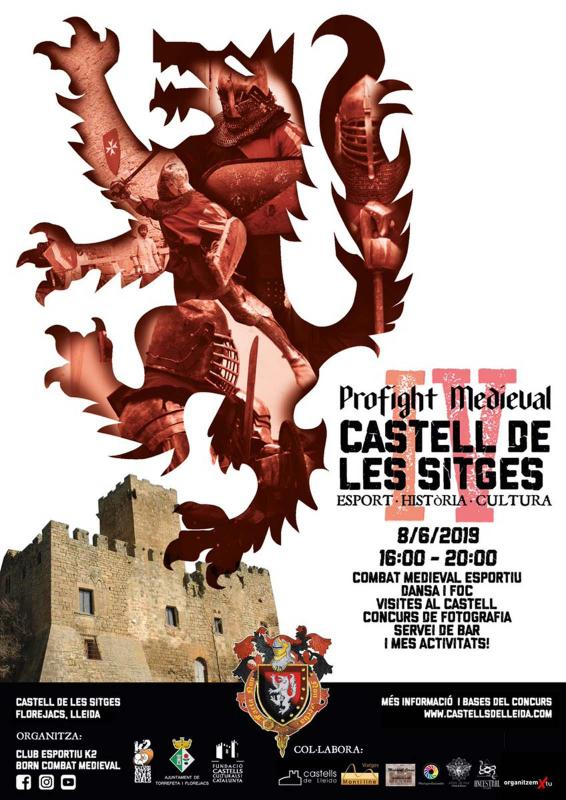 Combat medieval al castell de les Sitges