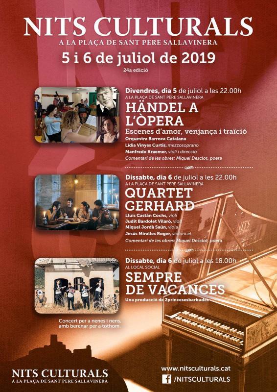 24a Nits Culturals de Sant Pere Sallavinera