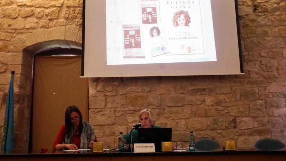 31.05.2019 Conferència de Dory Sontheimer  Santa Coloma de Queralt -  Jesús i Isabel @IStolpersteine