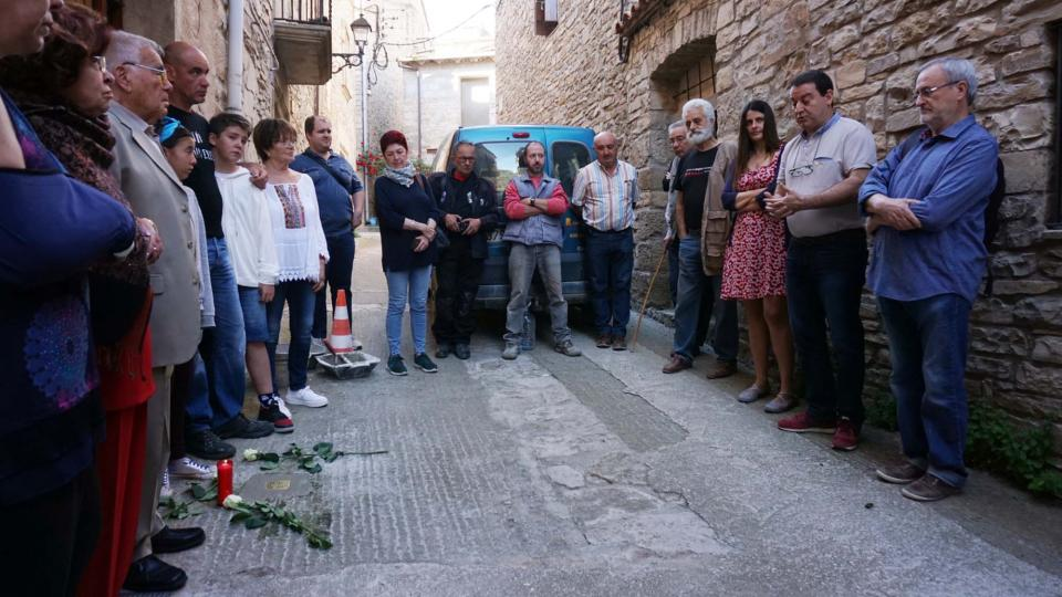 llamborda dedicada a Josep Bonell Berenguer - Vallfogona de Riucorb