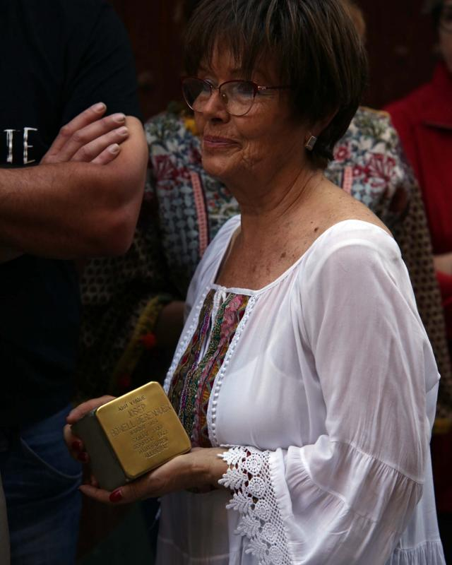 01.06.2019   Vallfogona de Riucorb -  Jesús i Isabel @IStolpersteine