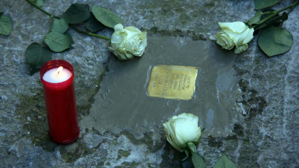 01.06.2019 Josep Bonell Berenguer  Vallfogona de Riucorb -  Jesús i Isabel @IStolpersteine