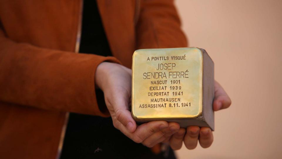 01.06.2019 Josep Sendra Ferré  Pontils -  Jesús i Isabel @IStolpersteine