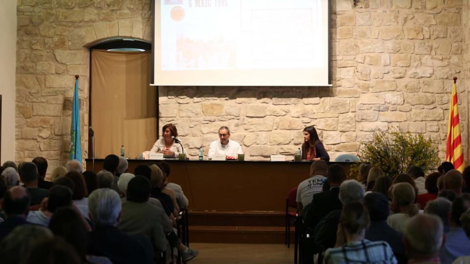 01.06.2019 Acte institucional   Santa Coloma de Queralt -  Jesús i Isabel @IStolpersteine