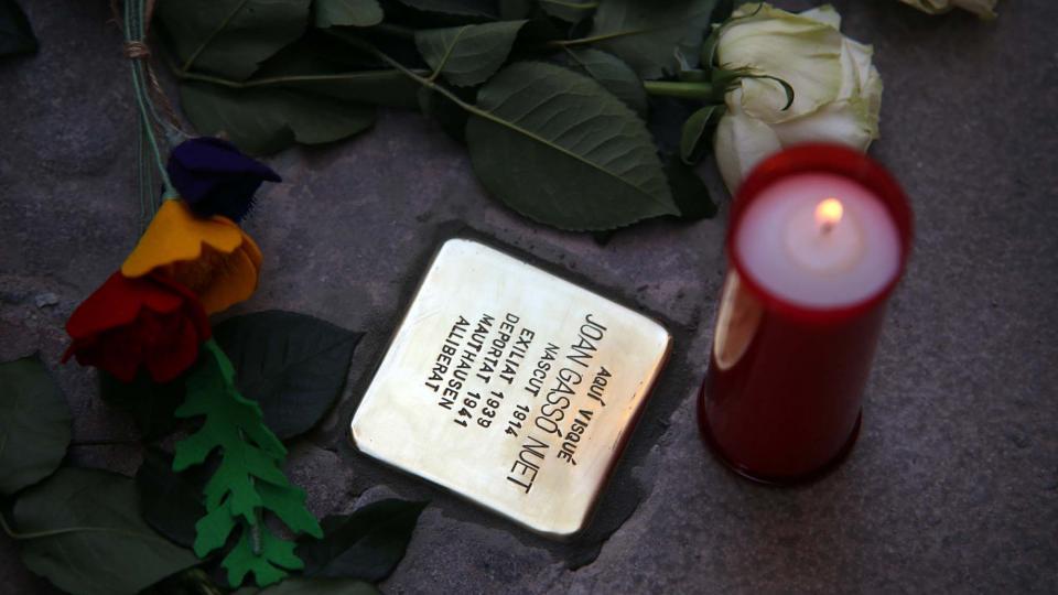 01.06.2019 Joan Gassó Nuet  Santa Coloma de Queralt -  Jesús i Isabel @IStolpersteine