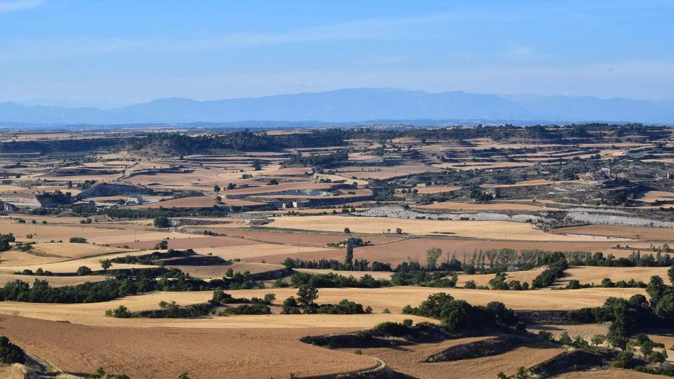 22.06.2019 vista de Sant Pere dels Arquells  Rubinat -  Ramon Sunyer
