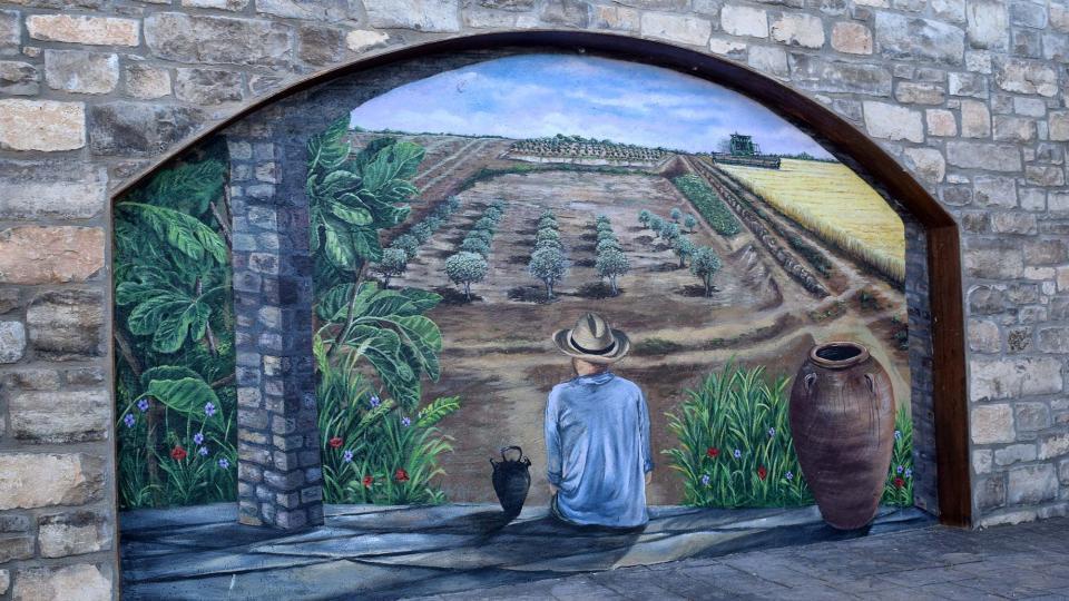 22.06.2019 Murals  Rubinat -  Ramon Sunyer