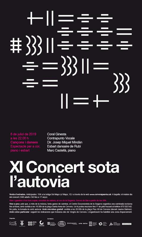 XI Concert sota l'autovia