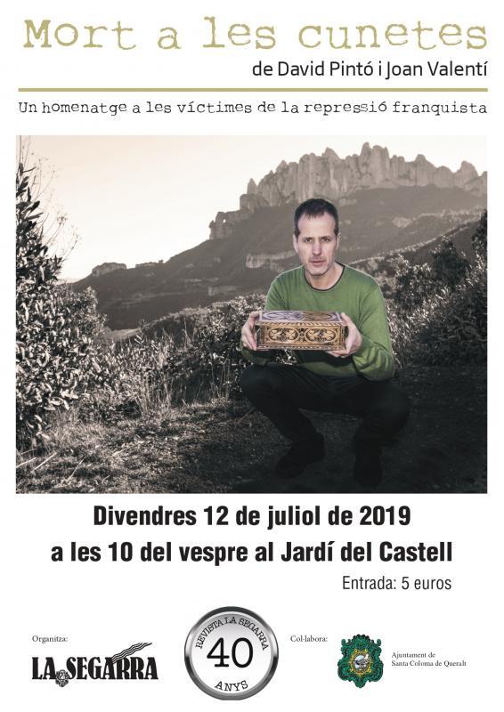 cartell Teatre: Mort a les cunetes