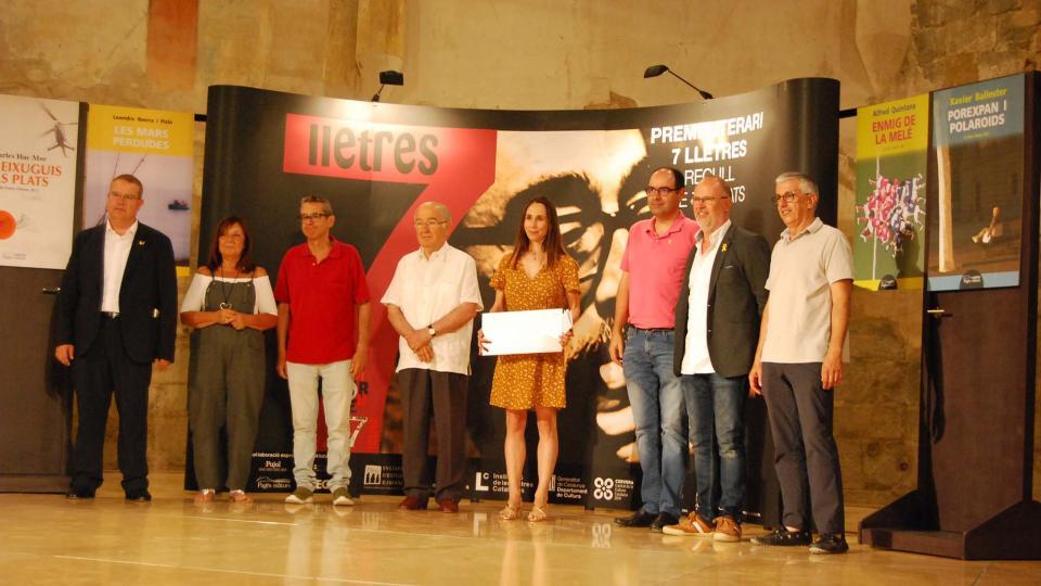 Susanna Batalla guanya el 14è Premi Literari 7lletres