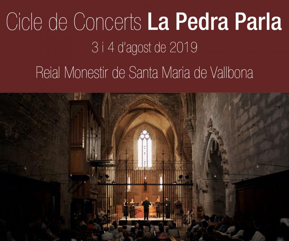 V Cicle de concerts La Pedra Parla 2019