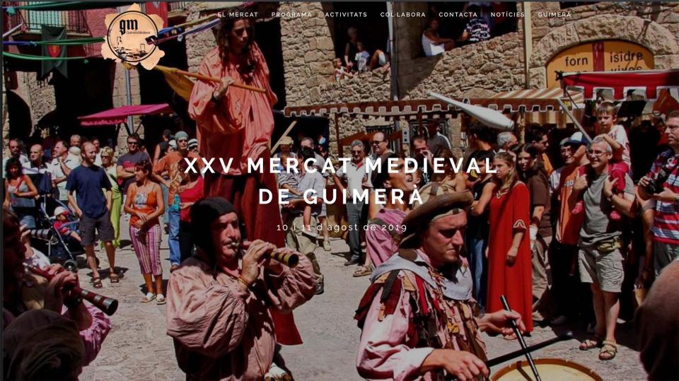 XXV Mercat Medieval de Guimerà 2019