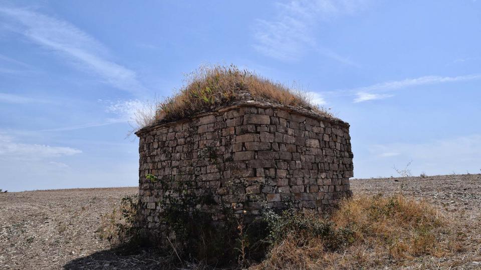 27.08.2017 Cabana II de falsa cúpula  Les Oluges -  Ramon Sunyer