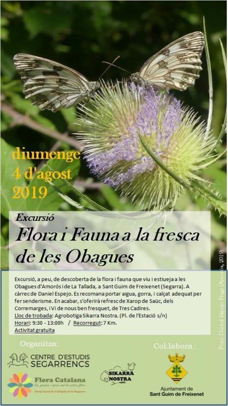 excursió Flora i fauna - Sant Guim de Freixenet